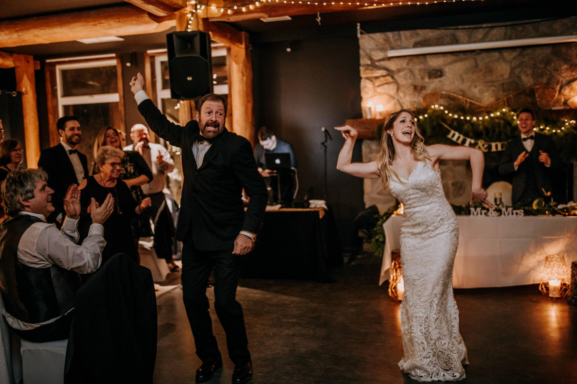 bride father choreographed dance