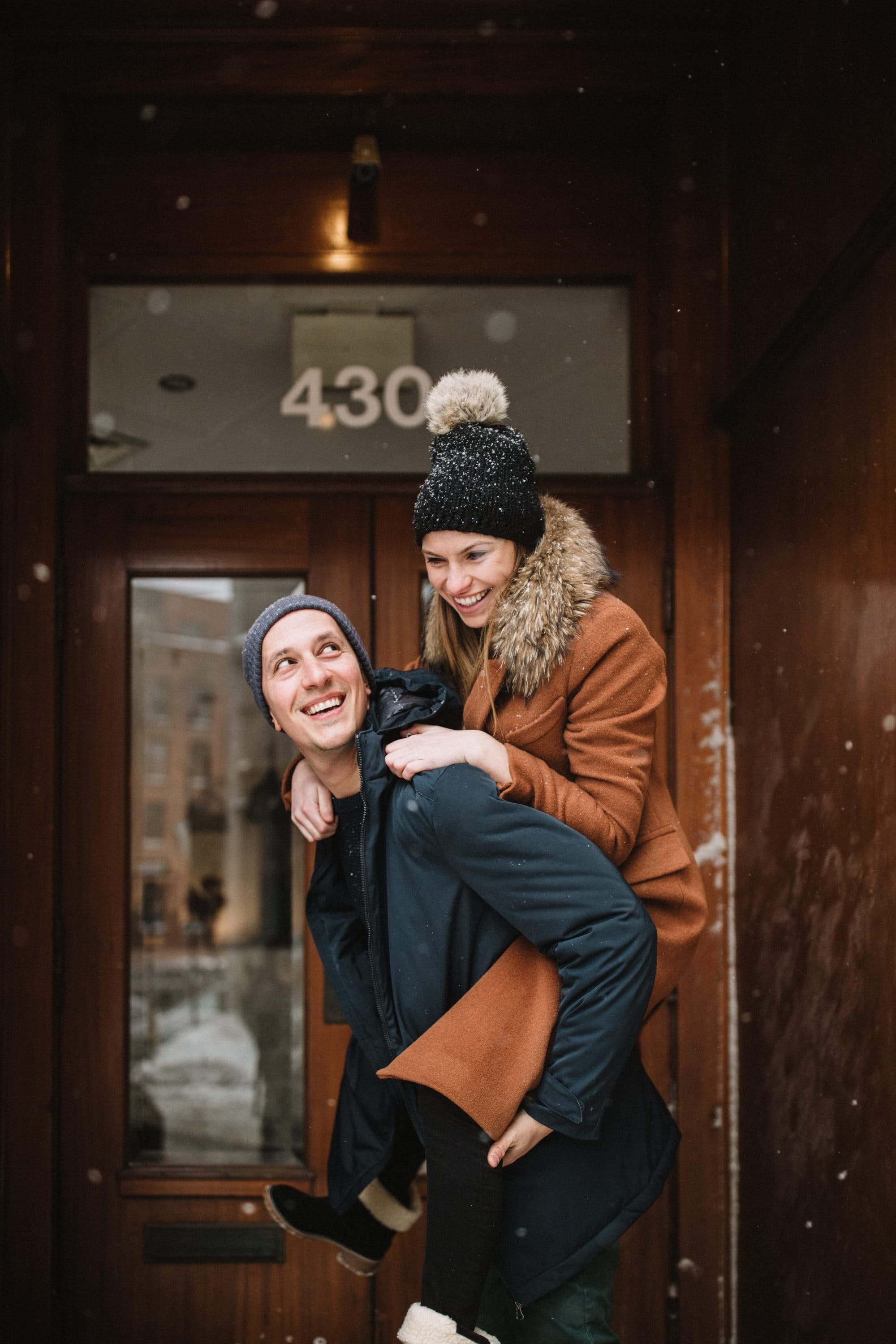 Piggy Back in the old port of Montreal