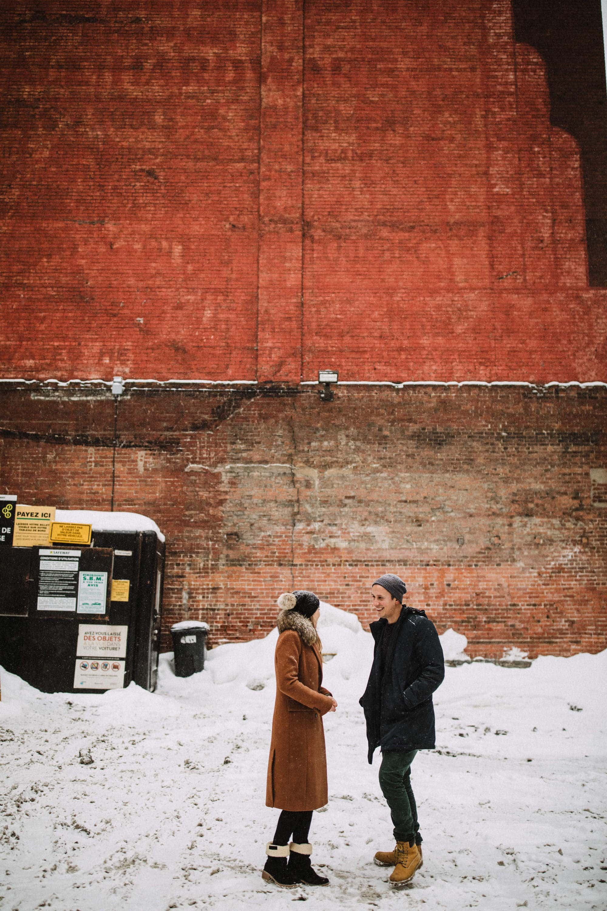 Urban engagement in a parking lot in old port of Montreal