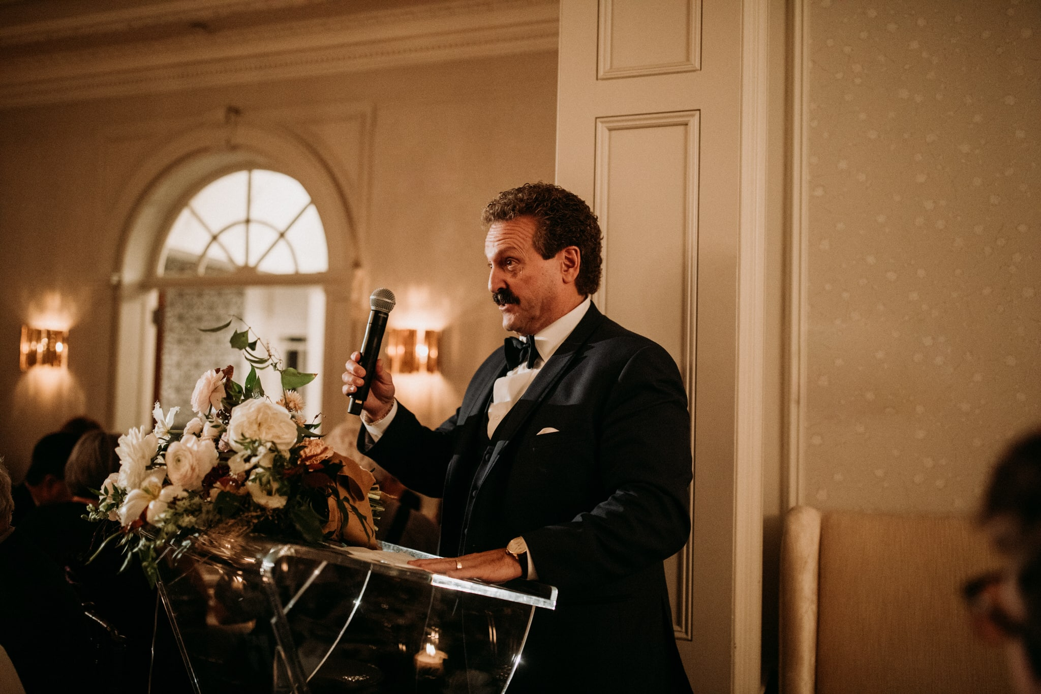 Wedding speech at Graydon Hall Manor in Toronto
